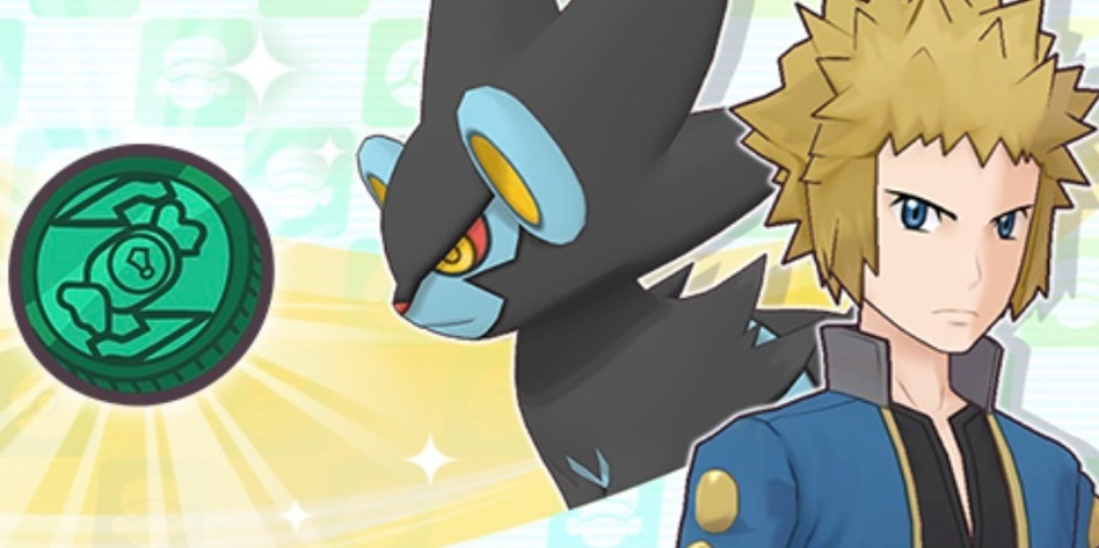 Pokemon Masters EX's latest story event focuses on newly added Sync Pair Volkner & Luxray