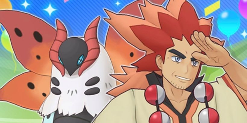 Pokemon Masters EX has introduced new Sync Pair Alder & Volcarona as the game hits 30 million downloads