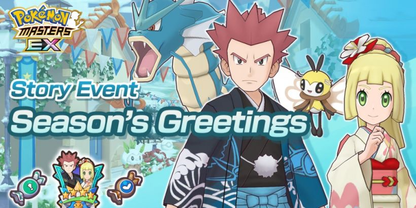 Pokemon Masters EX is celebrating the New Year with two seasonal Sync Pairs and an in-game event