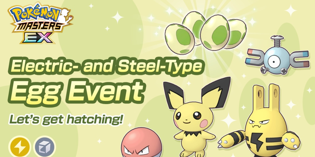 Pokemon Masters EX's latest Egg event introduces Pichu, Voltorb, Elekid and Magnemite as Player Character partner Pokemon