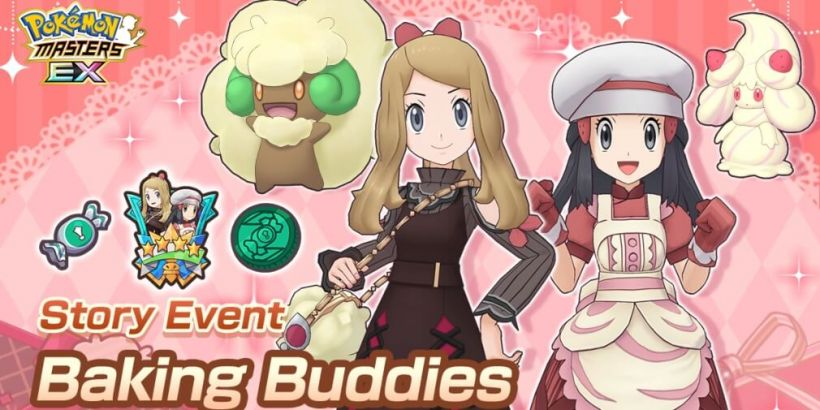 Pokemon Masters Ex's Baking Buddies event is now underway alongside the arrival of two seasonal Sync Pairs