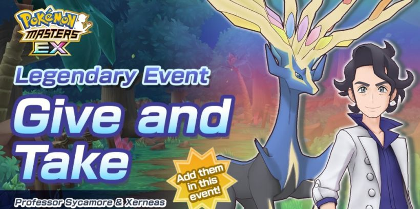 Pokemon Masters EX's Give and Take event is now underway along with the arrival of two new Sync Pairs