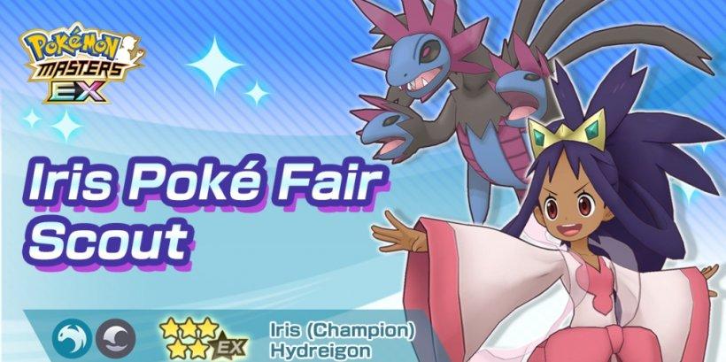 Pokemon Masters Ex's latest update welcomes Champion Iris & Hydreigon to Pasio