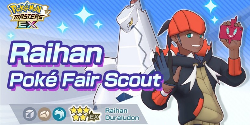 Pokemon Masters EX's latest update introduces Raihan & Duraludon to the game alongside a new event
