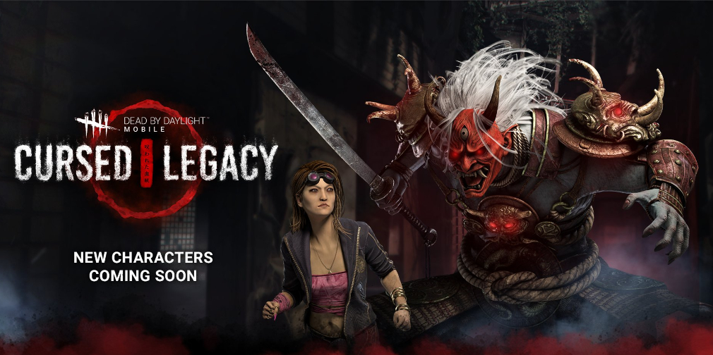 Dead by Daylight Mobile's Cursed Legacy chapter will introduce killer The Oni and survivor Yui Kimura