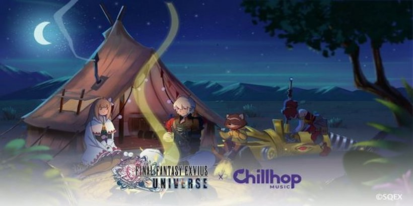 War of the Visions: Final Fantasy Brave Exvius adds a limited-time in-game event with Chillhop Music