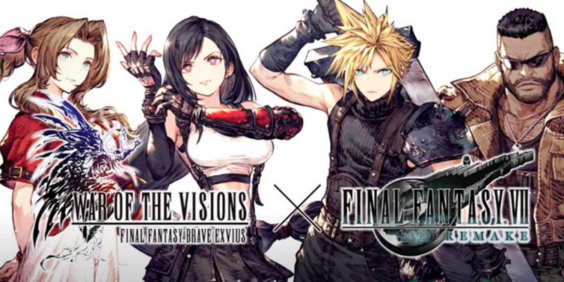 War of the Visions Final Fantasy Brave Exvius launches collab event with Final Fantasy VII Remake