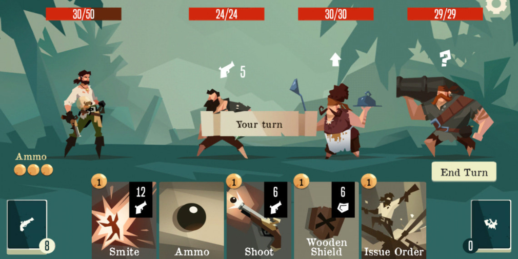 Latest update for roguelike card game Pirates Outlaws adds an intense arena mode