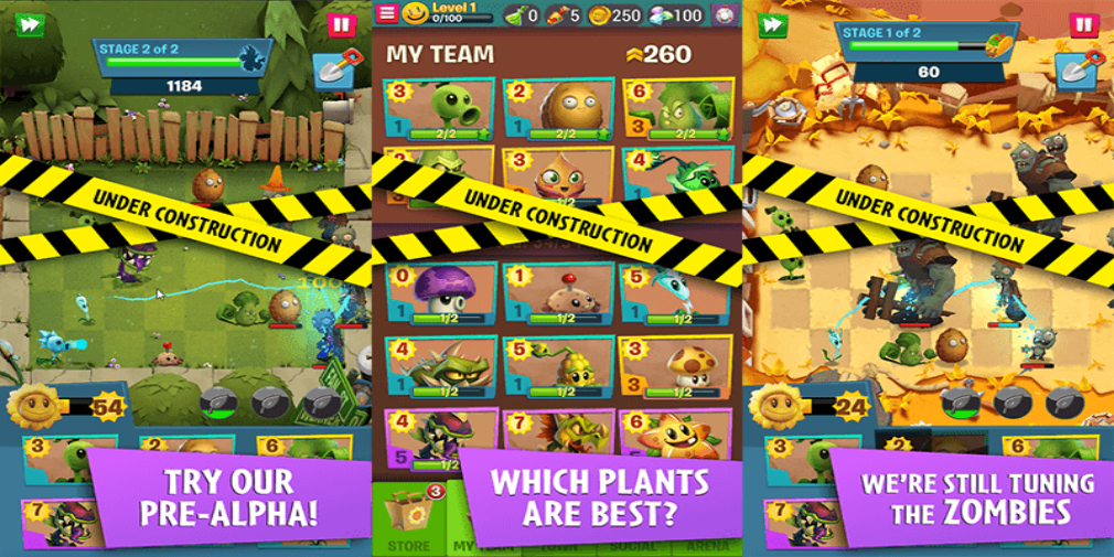 Plants vs Zombies 3 is real and it's out now in pre-alpha