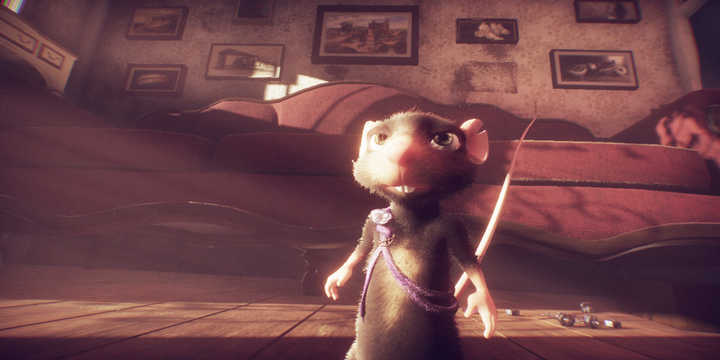 A Rat's Quest tells a moving tale about rodents, love, and rodents in love