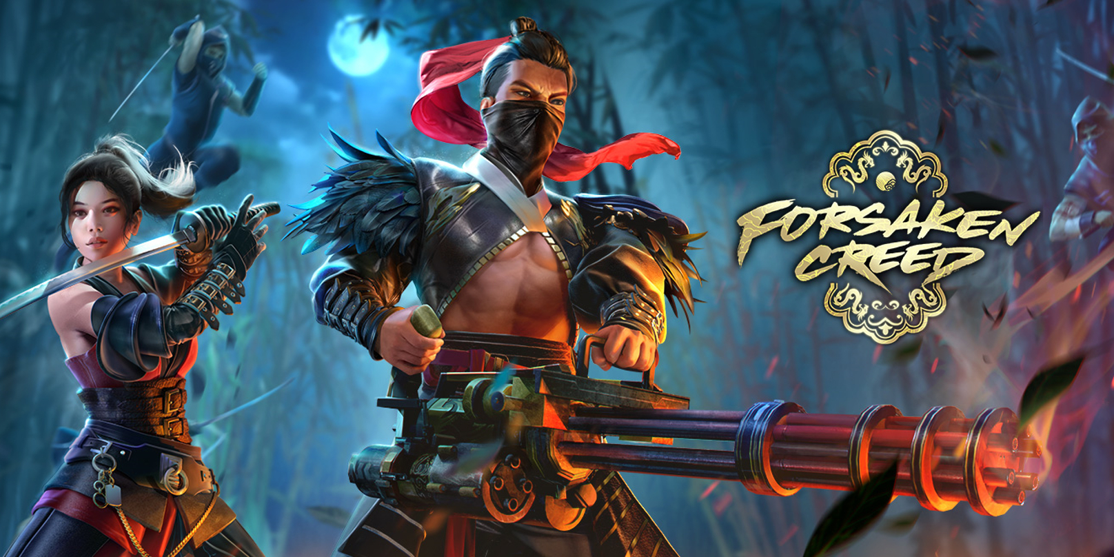 Garena Free Fire's latest Elite Pass, Forsaken Creed, takes us to a world of mutants and samurai