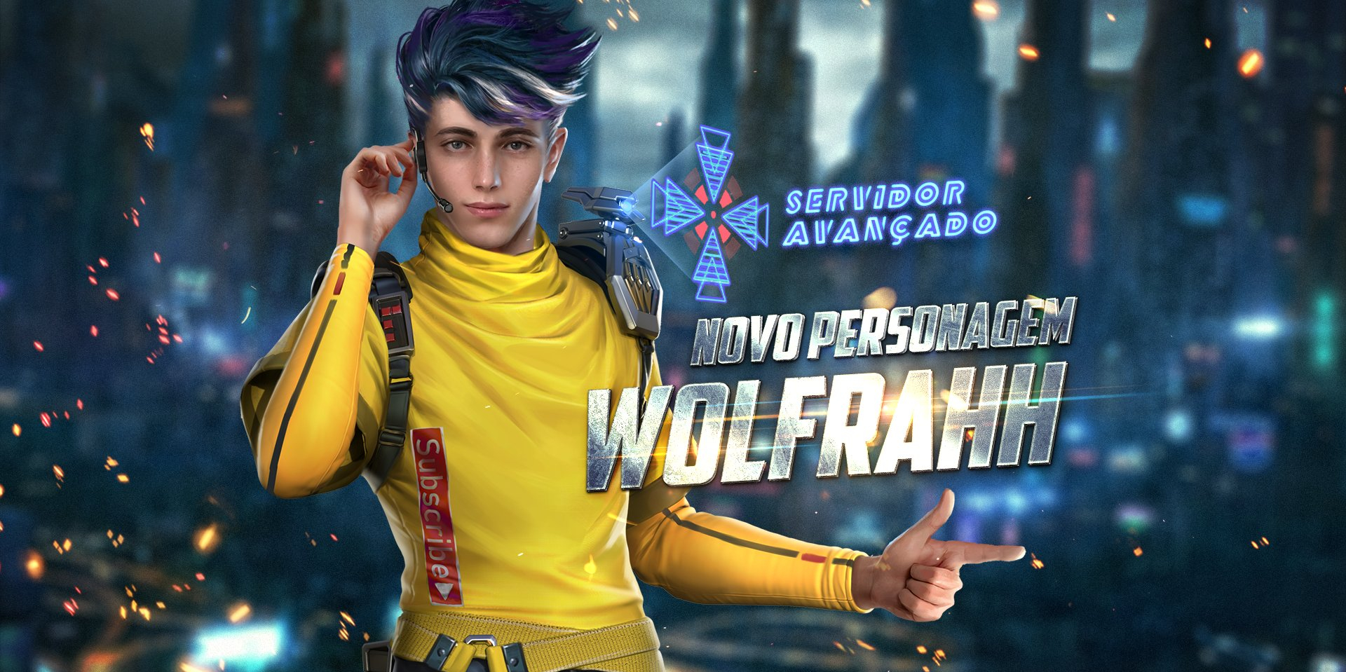 Garena Free Fire announces latest character, Wolfrahh, and achieves a new peak of 80+ million daily active users