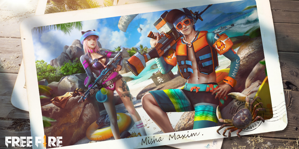 Garena Free Fire's Beach Party event serves up exclusive rewards this weekend