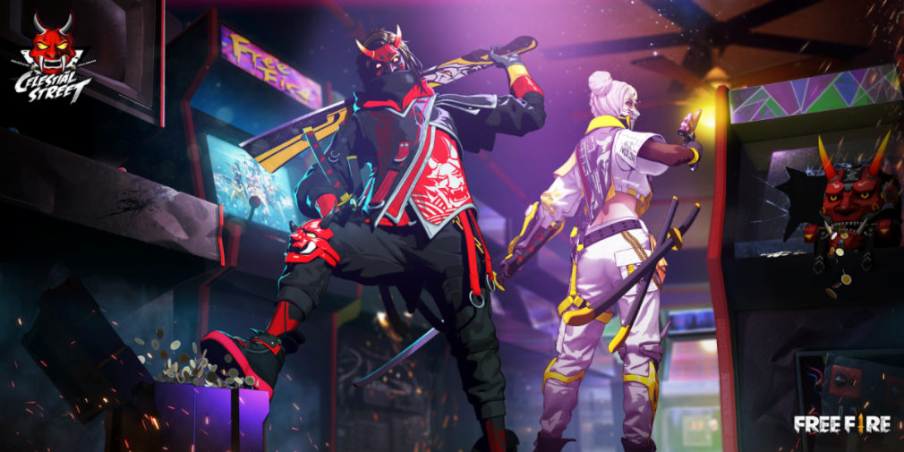 Garena Free Fire's Celestial Street Elite Pass introduces the Street Devil and Street Angel skin sets