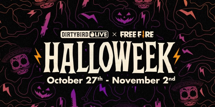 Garena Free Fire's Halloweek in-game event is now underway, featuring a collaboration with EDM label Dirtybird
