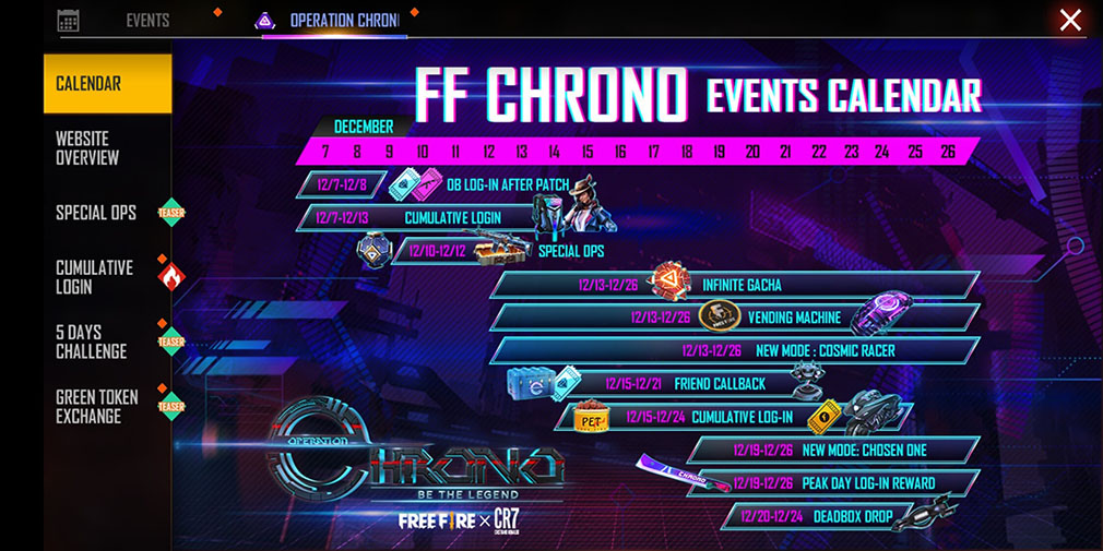 Garena Free Fire rewards and how to claim them for free
