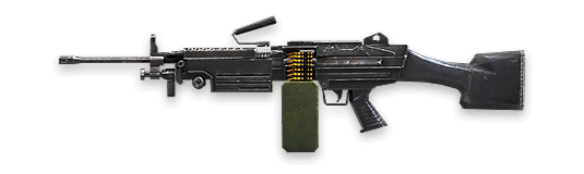 free fire best LMGs guide - M249