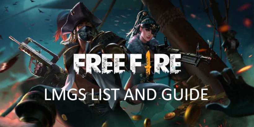 Garena Free Fire LMGs - Complete list and guide