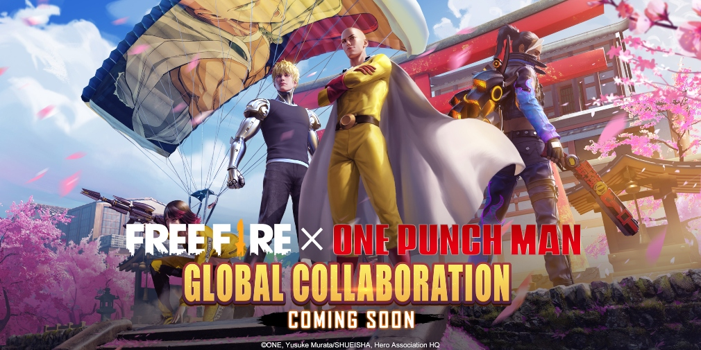 Garena Free Fire's latest collaboration sees the battle royale teaming up with One-Punch Man
