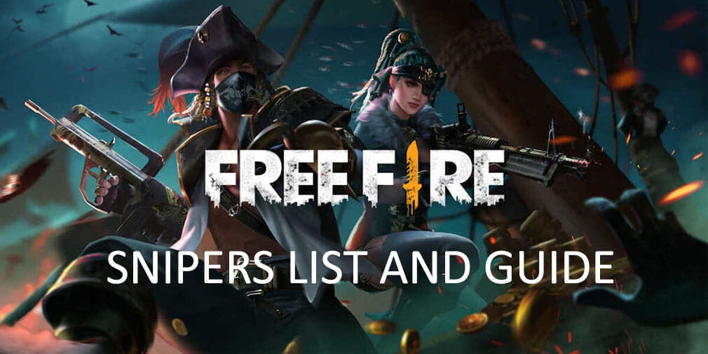 Garena Free Fire Snipers - Complete list and guide