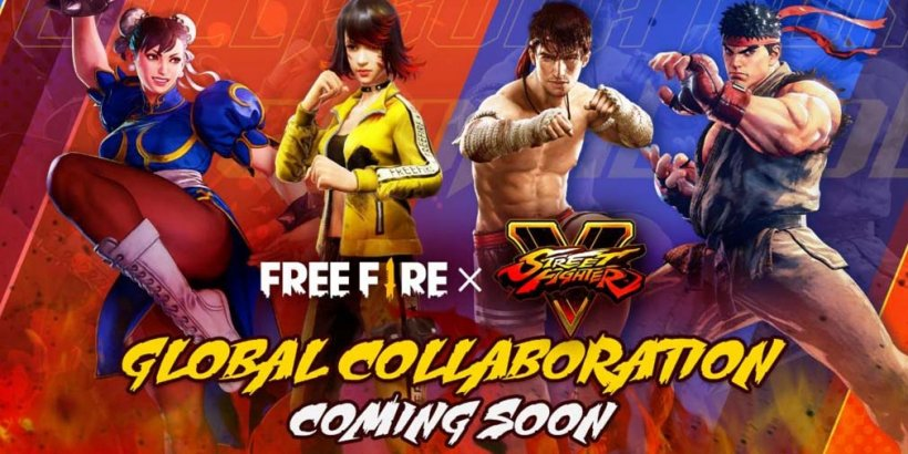 Free Fire's Street Fighter V crossover event in July welcomes Ryu and Chun-Li into the battle royale
