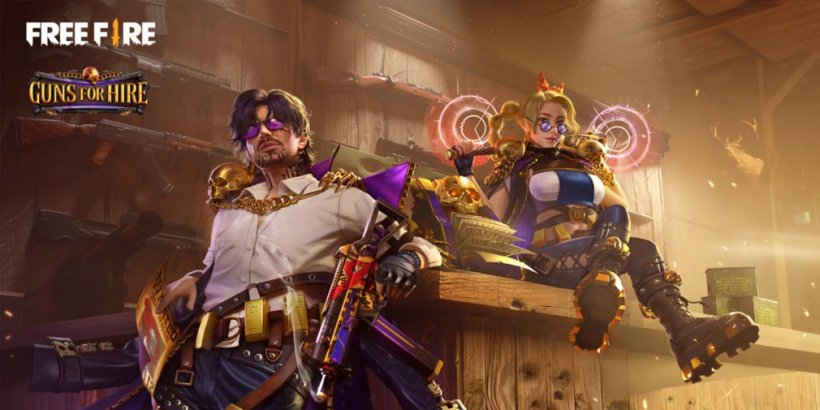 Free Fire's latest Elite Pass, Guns for Hire, takes players to the gunslinging Old West