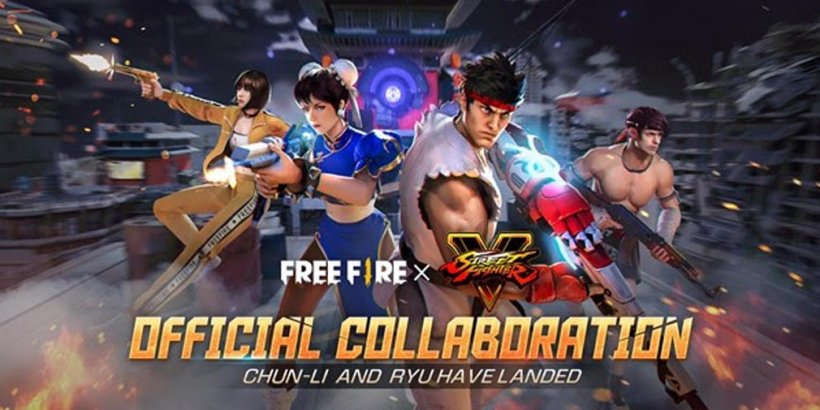 Free Fire's Street Fighter V collaboration is entering its final leg