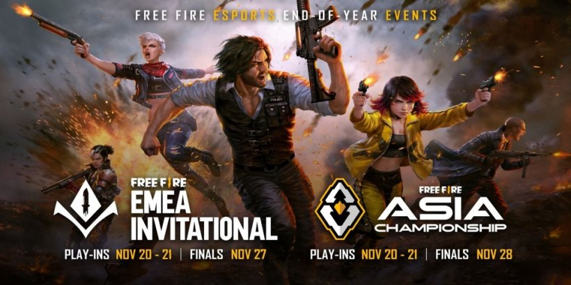 Free Fire is hosting two new virtual tournaments in November 2021
