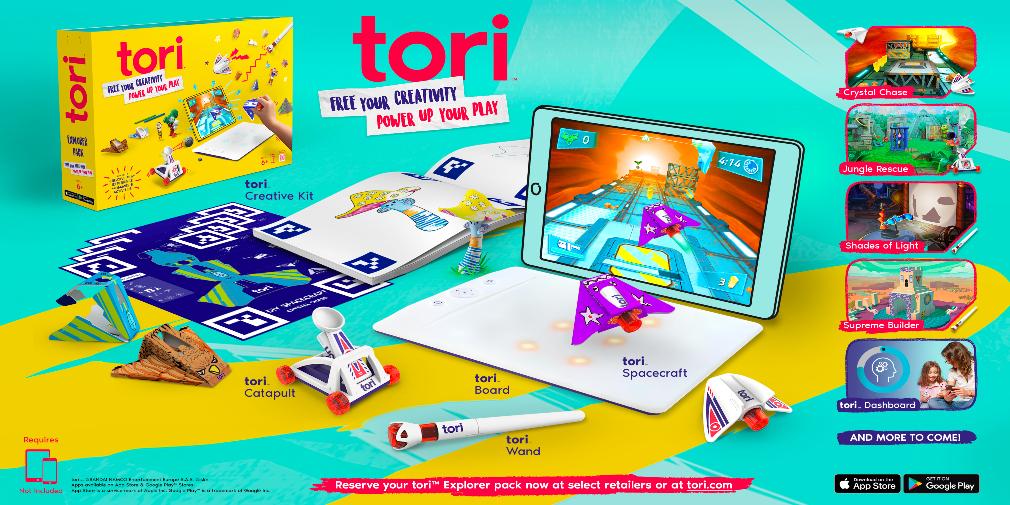 Bandai Namco's Tori could be Nintendo Labo for mobile