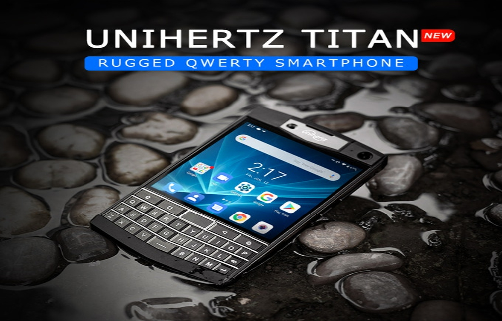 "The Unihertz Titan Rugged smartphone is ""damn-near bullet"