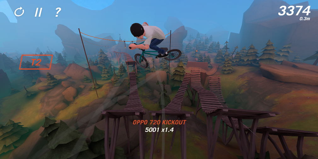Trail Boss, the intense extreme biking game, races onto the App Store and Google Play