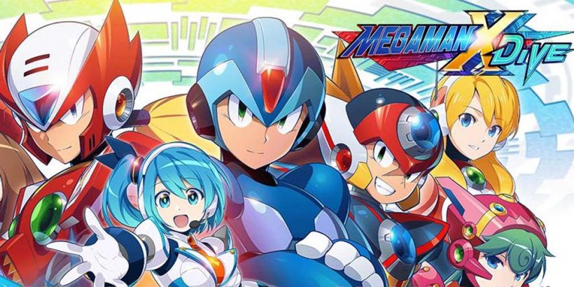Mega Man X DiVE's global release is coming next month, and pre-registration is now open