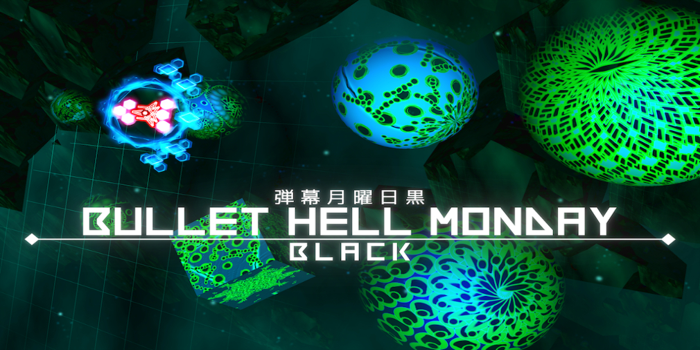 Trippy shmup Bullet Hell Monday Black lands on mobile next week