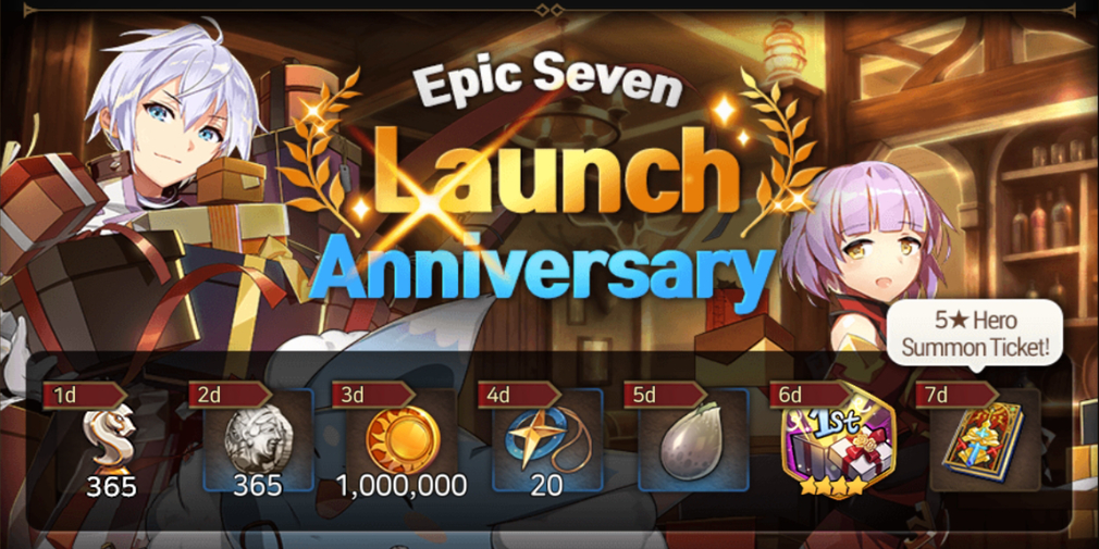 Epic Seven is having a birthday celebration that gives