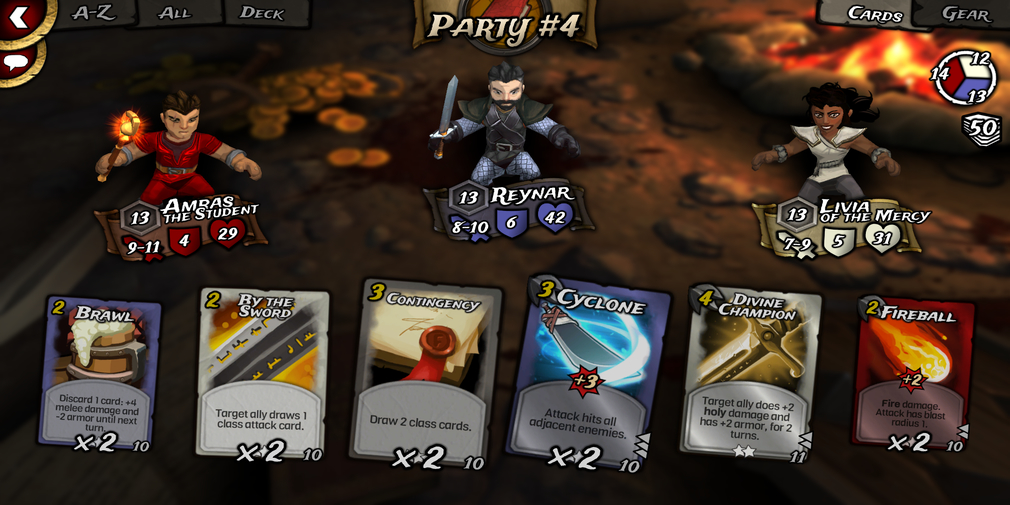 Traitors Empire Card RPG is a turn-based card battler RPG and it's available now