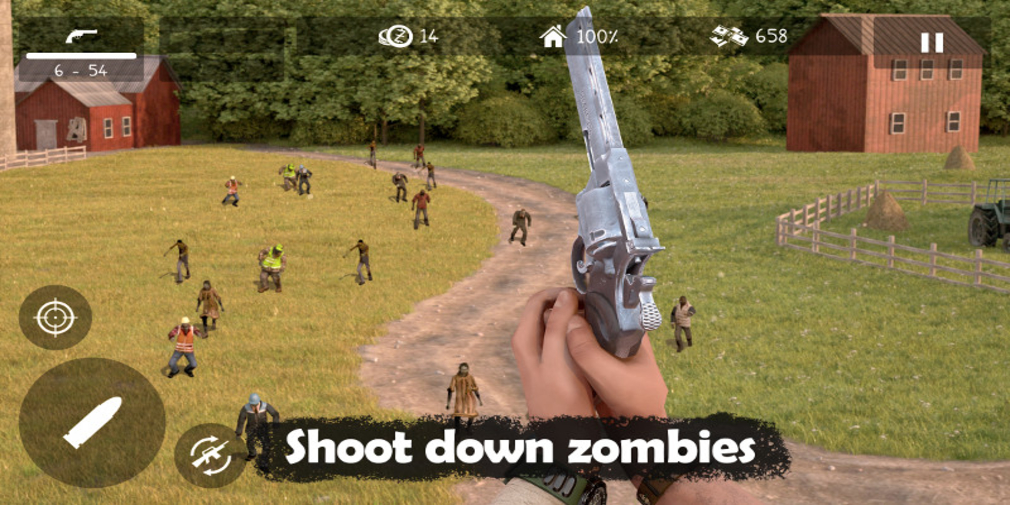 Dead Zed is an upcoming horde-based zombie shooter from Not Doppler