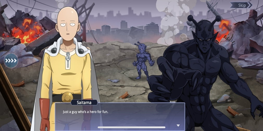 One Punch Man: Road to Hero, the turn-based card RPG based on the popular anime is available now on iOS