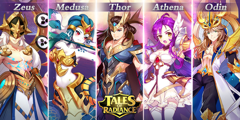 Upcoming idle RPG 'Tales of Radiance' offers fast-paced