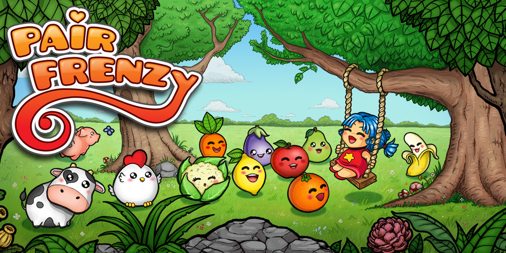Pair Frenzy is a kawaii influenced memory matching game that's now available on Android