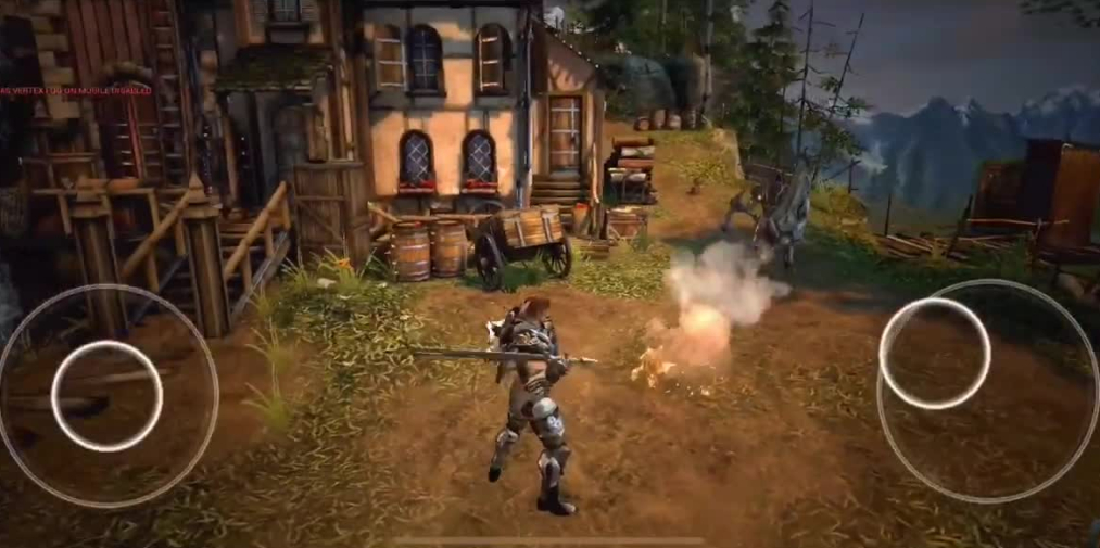 Ria is an ambitious open-world adventure game coming soon to iOS and Android