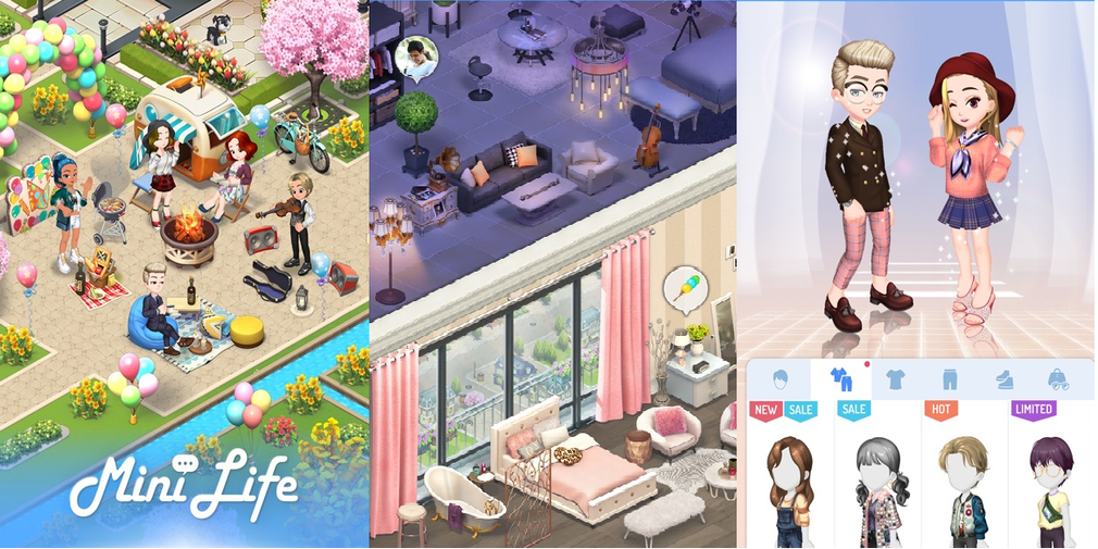 Mini Life is an MMO/Social game hybrid that's launching in early September
