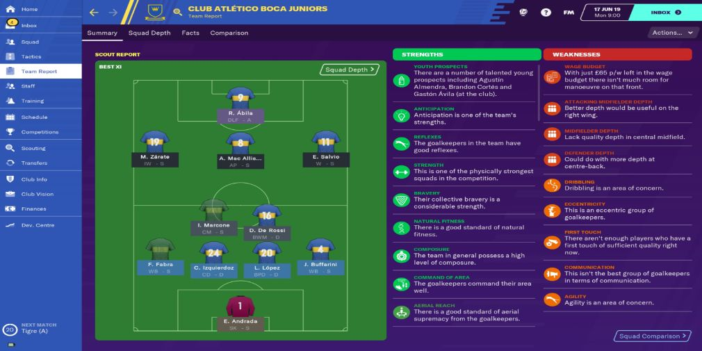 Football Manager 2020 Touch advanced tips for winning the league