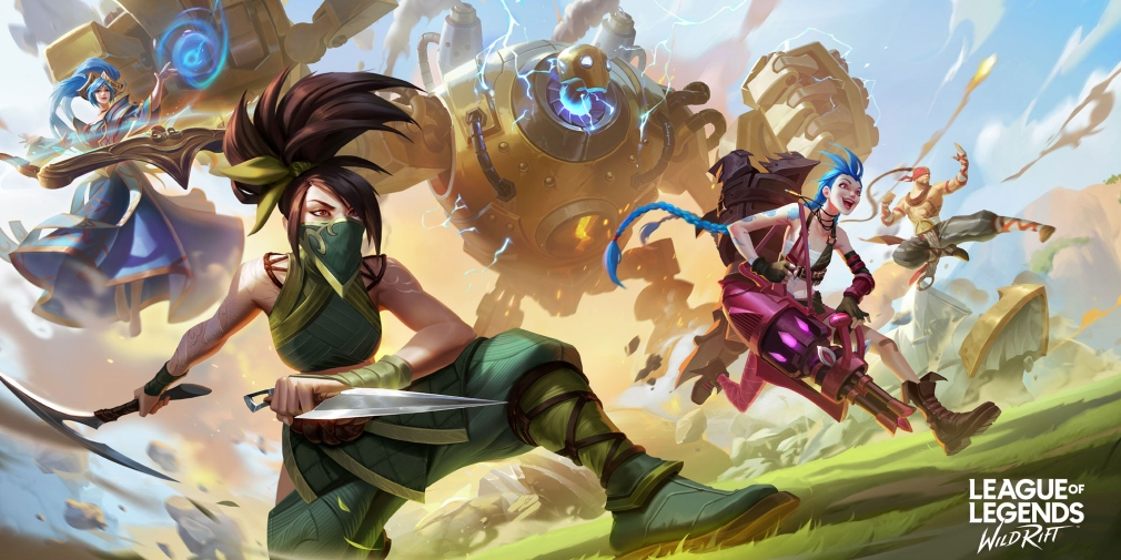 Un peu de gameplay pour League of Legends : Wild Rift