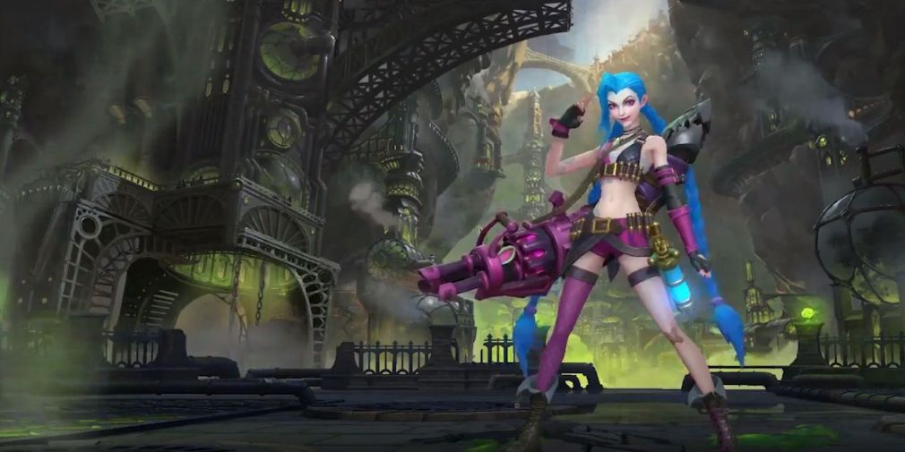 The complete guide for Jinx in League of Legends: Wild Rift & everything you need to know