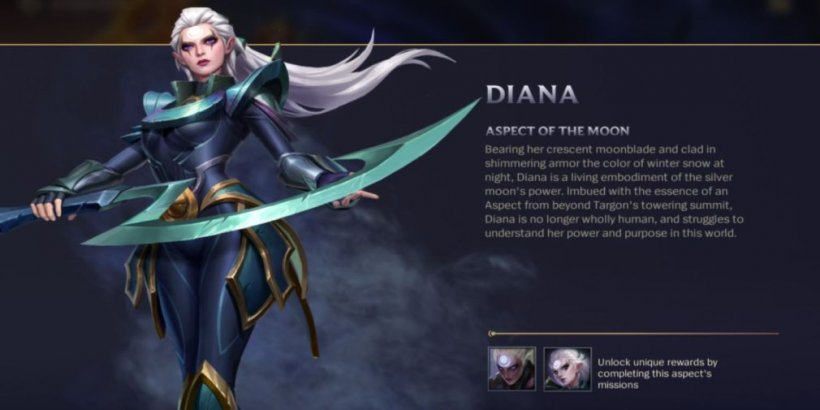 Aspect of the Moon - Diana