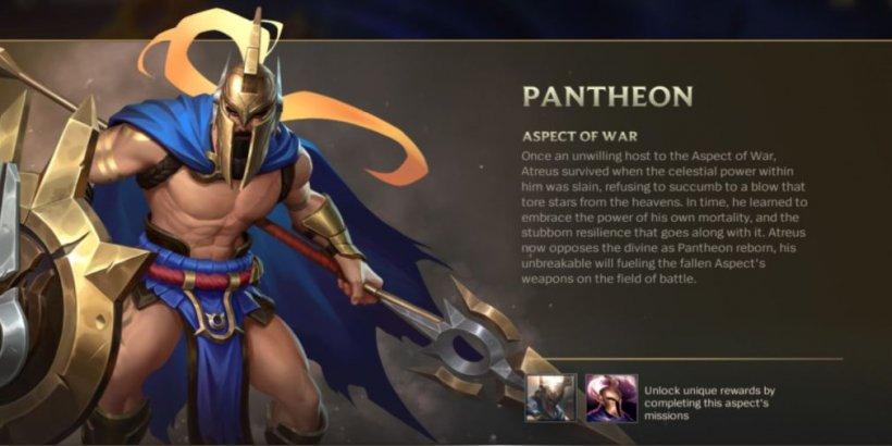 Aspect of War - Pantheon