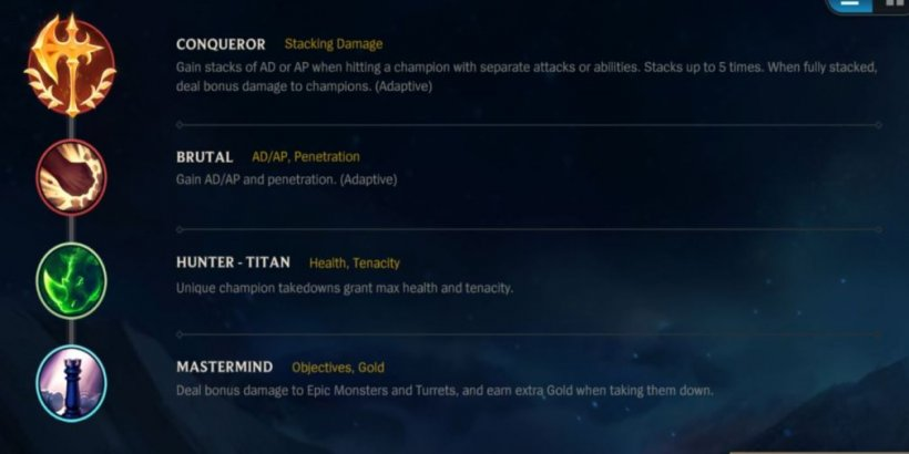 Best runes for WR Xin Zhao