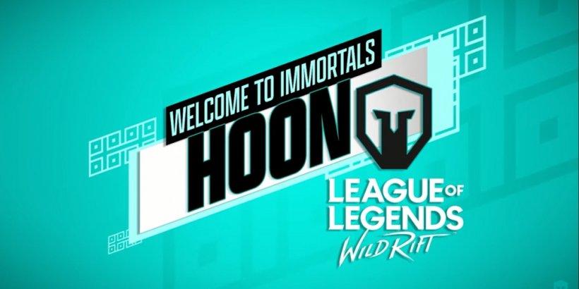Immortals interview: Jordan Sherman and YouTuber GosuHoon discuss the brand's venture into Wild Rift's esports scene