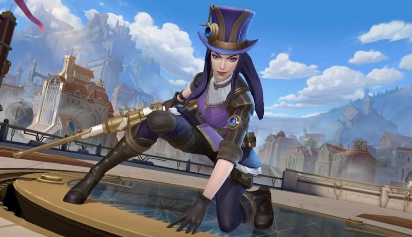 Wild Rift patch 2.5 Caitlyn introduction