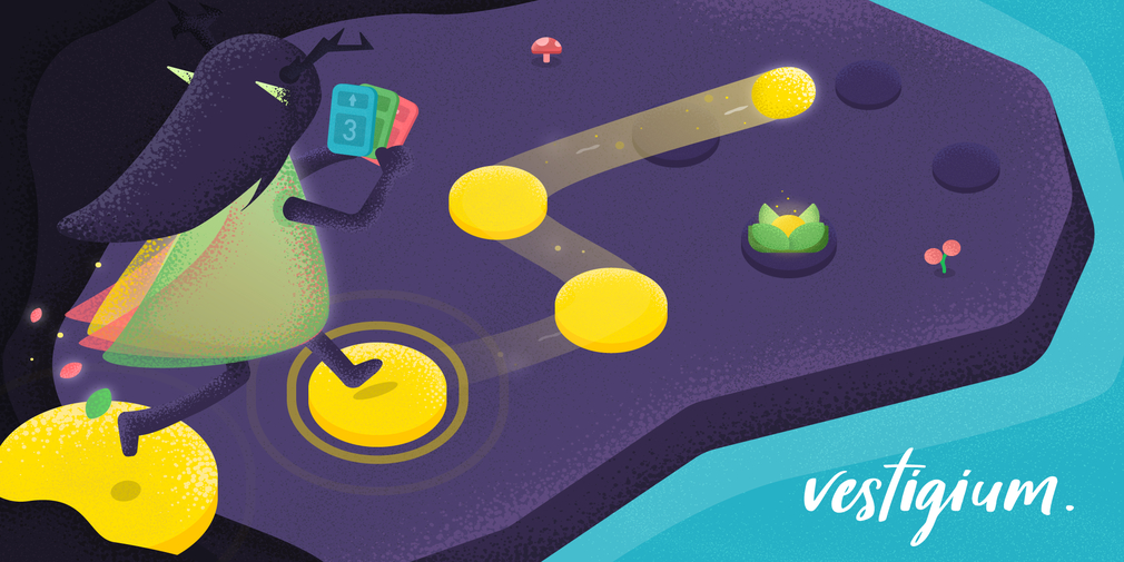 Vestigium is a relaxing, heartwarming puzzler for iOS and Android